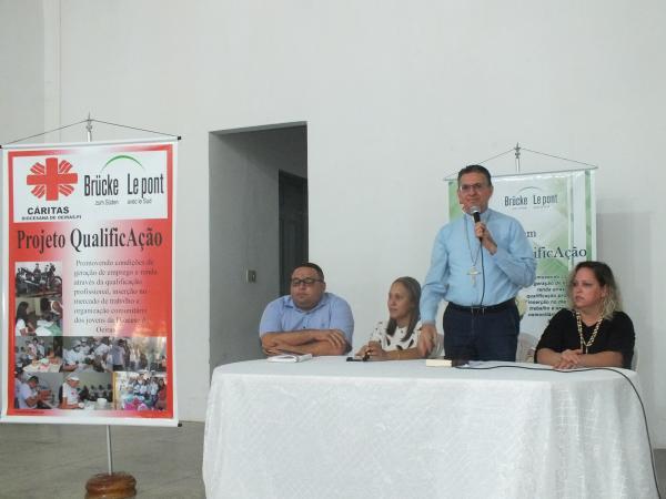 Aula inaugural e Lançamento do Projeto QualificAção