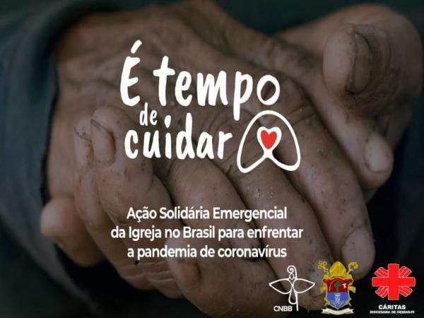 """Diocese de Oeiras planeja lançamento da Campanha """"É tempo de cuidar"""""""